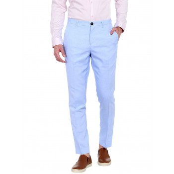 Jack n Jones Men Casual Wear Solid Trouser
