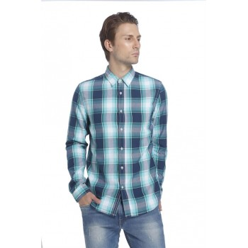 Jack & Jones Men Casual Wear Checkered Shirt
