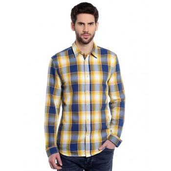 Jack & Jones Men Casual Wear Checkered Shirt