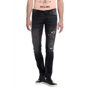 Jack & Jones Men Casual Wear Embellished Jeans