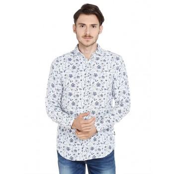 Jack & Jones Men Casual Wear Floral Print Shirt