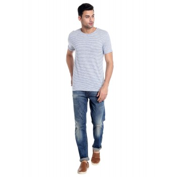 Jack & Jones Men Casual Wear Mild Distress Jeans