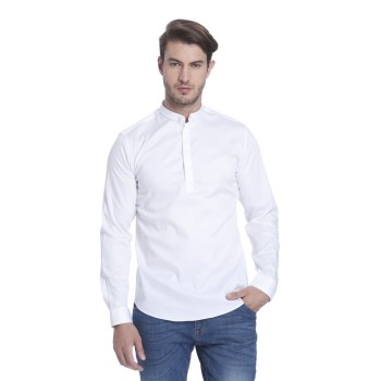 Jack n Jones Men Casual Wear Solid Shirt