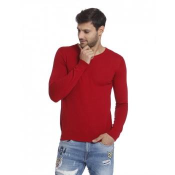 Jack & Jones Men Casual Wear Solid Sweatshirt
