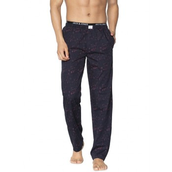 Jack & Jones Men Casual Wear Printed Pyjama