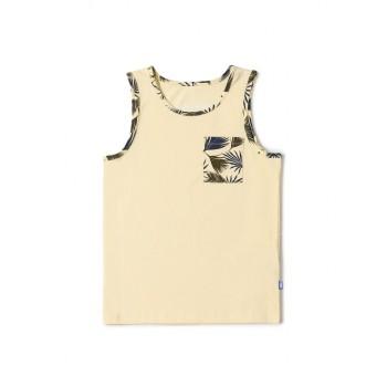 Jack & Jones Junior Beige T-Shirt For Boys