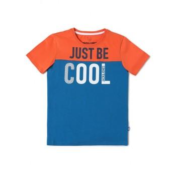 Jack & Jones Junior Red T-Shirt For Boys