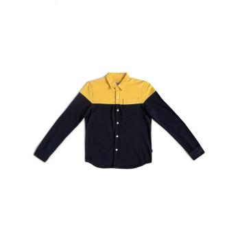 Jack & Jones Junior Yellow Shirt For Boys