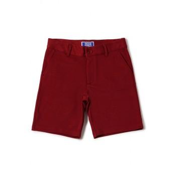 Jack & Jones Junior Maroon Shorts For Boys
