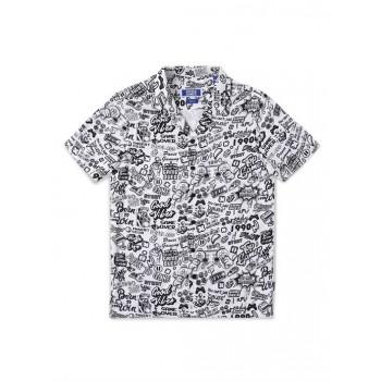 Jack & Jones Junior White Shirt For Boys