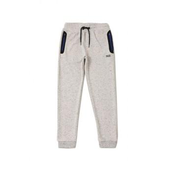 Jack & Jones Junior Off-White Track Pant For Boys