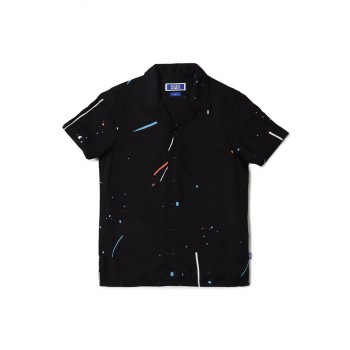 Jack & Jones Junior Black Shirt For Boys