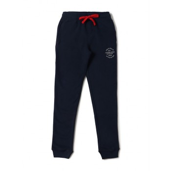 Jack & Jones Junior Dark Blue Track Pant For Boys