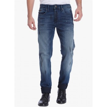 Jack & Jones Men Casual Wear Printed Jeans