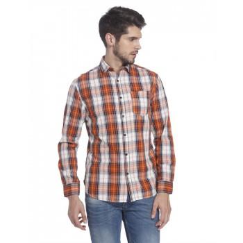 Jack n Jones Men Casual Wear Checkered Shirt