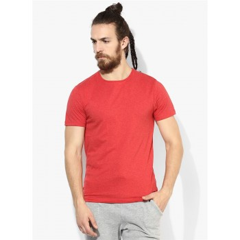 Jack & Jones Men Casual Wear Solid  T-shirt