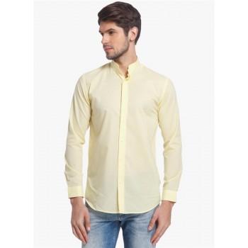 Jack & Jones Men Casual Wear Solid Shirt