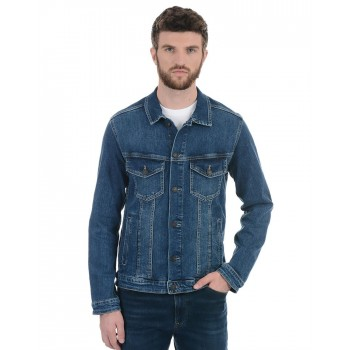 Jack n Jones Men Casual Wear Solid Jacket