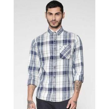 Jack & Jones Men Checkered Casual Wear Shirt
