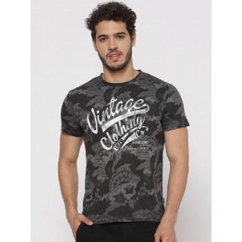 Jack & Jones Men Printed Casual Wear T-Shirt