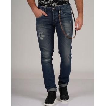 Jack & Jones Men Casual Wear Solid Jean