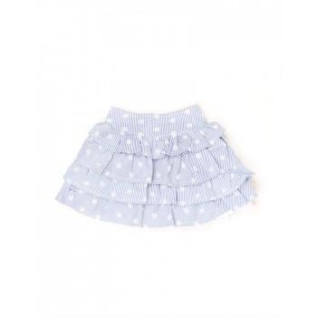 K.C.O 89 Girls Casual Wear Striped Skirt