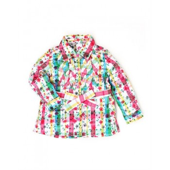 K.C.O 89 Girls Casual Wear Printed Top