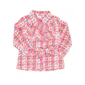 K.CO.89 Girls Casual Wear Printed Top