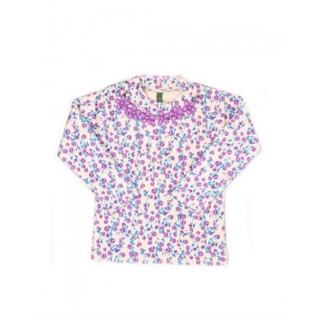 K.C.O 89 Girls Party Wear Self Design Top