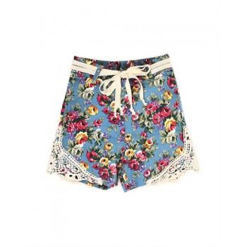 K.C.O 89 Casual Printed Girls Shorts