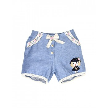 K.C.O 89 Casual Solid Girls Shorts
