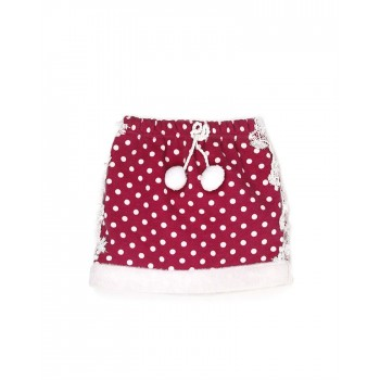 K.CO.89 Girls Casual Wear Polka Print Skirt