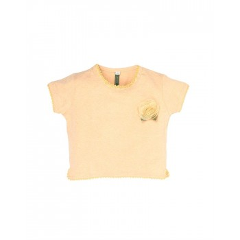 K.CO.89 Girls Casual Wear Solid Top