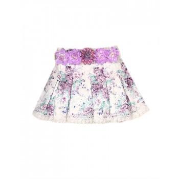 K.C.O 89 Casual Printed Girls Skirt