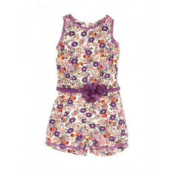 K.C.O 89 Girls Casual Wear Floral Print Jump Suit