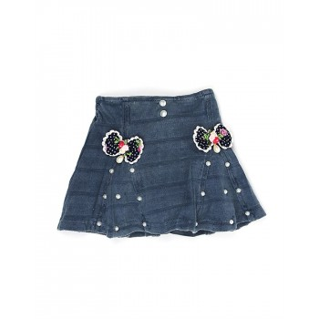 K.C.O 89 Casual Solid Girls Skirt