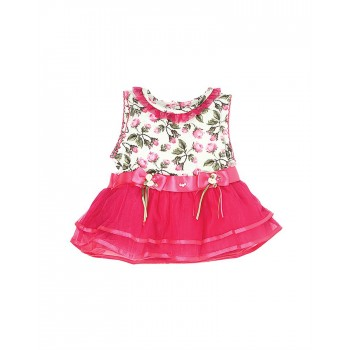 K.C.O 89 Party Floral Print Girls Frock