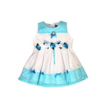 K.C.O 89 Party Self Design Girls Frock