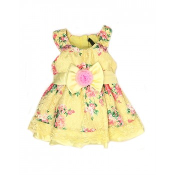 K.C.O 89 Party Printed Girls Frock