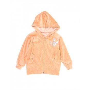 K.CO.89 Girls Orange Solid Jacket