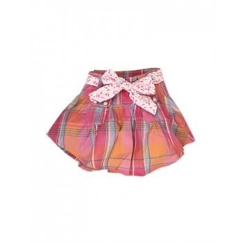 K.C.O 89 Casual Checkered Girls Skirt