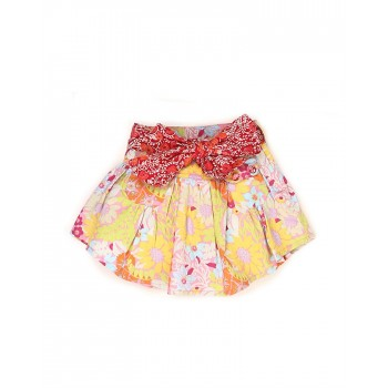 K.C.O 89 Casual Floral Print Girls Skirt