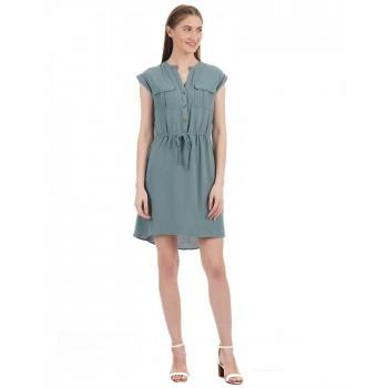 Kazo Women Casual Wear Solid Dress