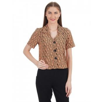 Kazo Women Casual Wear Printed Shirt