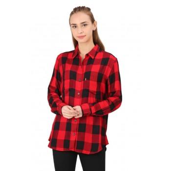 Levi's Women Casual Wear Checkered Shirt