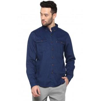 Levi's Men Casual Wear Solid Shirt