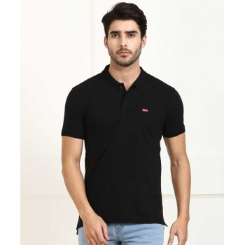 Levis Men Solid Casual Wear T-Shirt