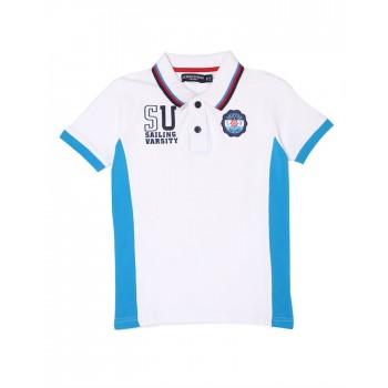 London Fog Boys Casual Wear Solid Polo T-Shirt