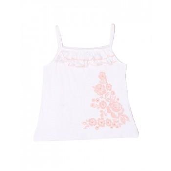 London Fog Girls Casual Wear Floral Print Top