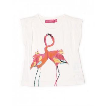 London Fog Girls Casual Wear Animal Print Top